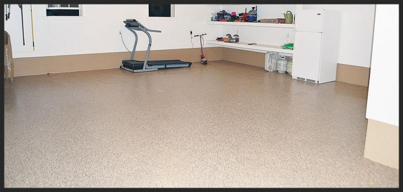 simple resurfacing garage strong steps floor for resurface splendid
